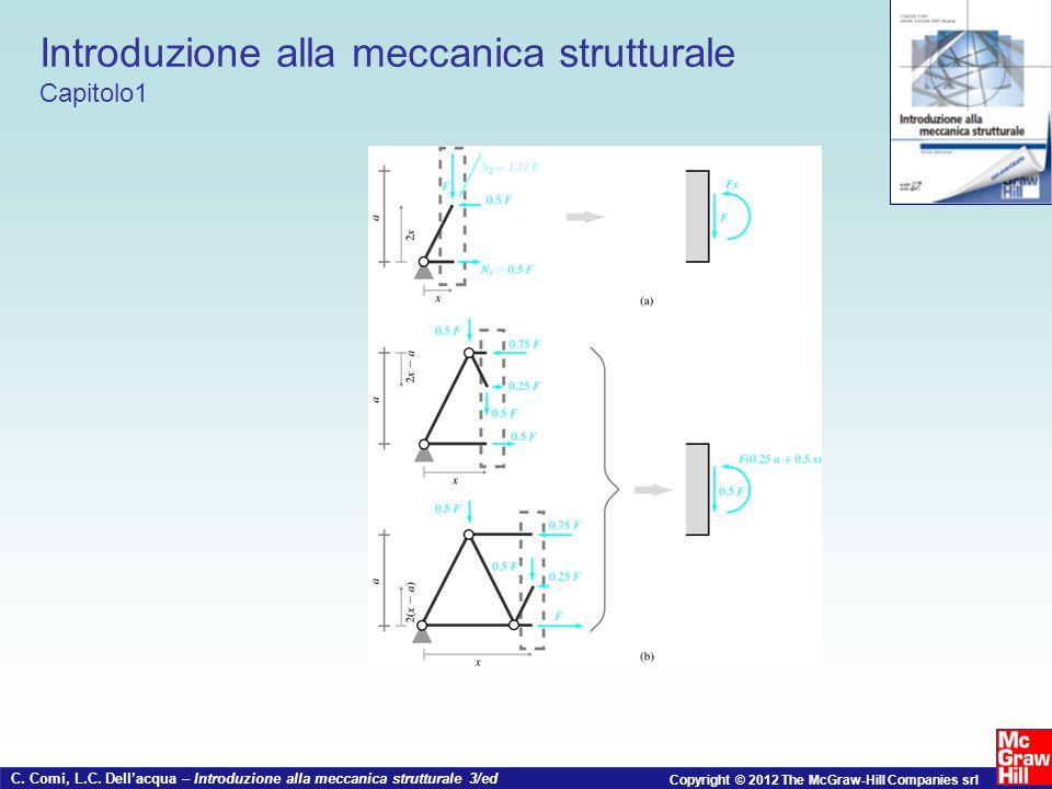 C. Comi, L.C. Dell'acqua – Introduzione alla meccanica strutturale 3/ed Copyright © 2012 The McGraw-Hill Companies srl Introduzione alla meccanica str
