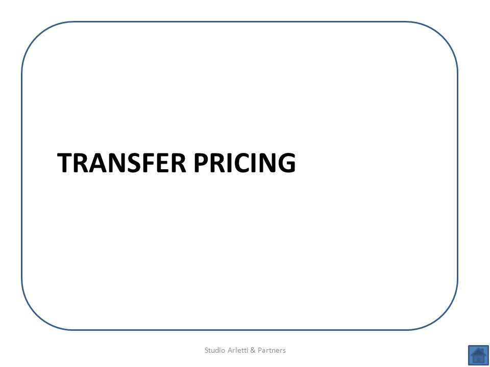 Studio Arletti & Partners TRANSFER PRICING