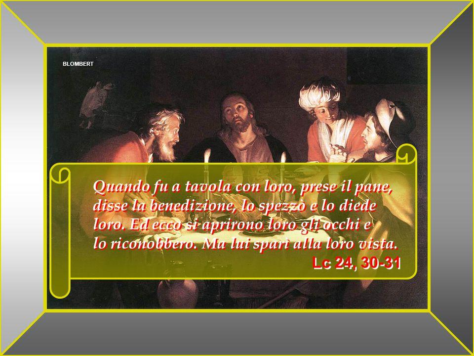 Allora quel discepolo che Gesù amava disse a Pietro È il Signore .