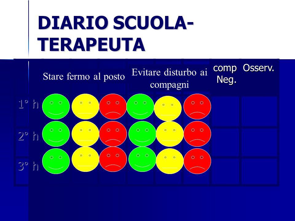 DIARIO SCUOLA- TERAPEUTA comp Neg.Osserv.