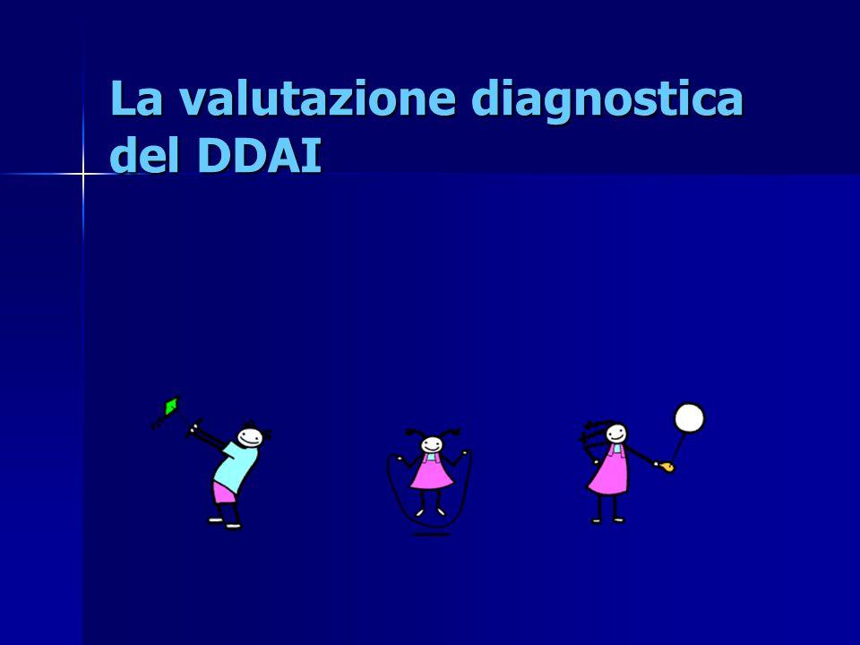 La valutazione diagnostica del DDAI