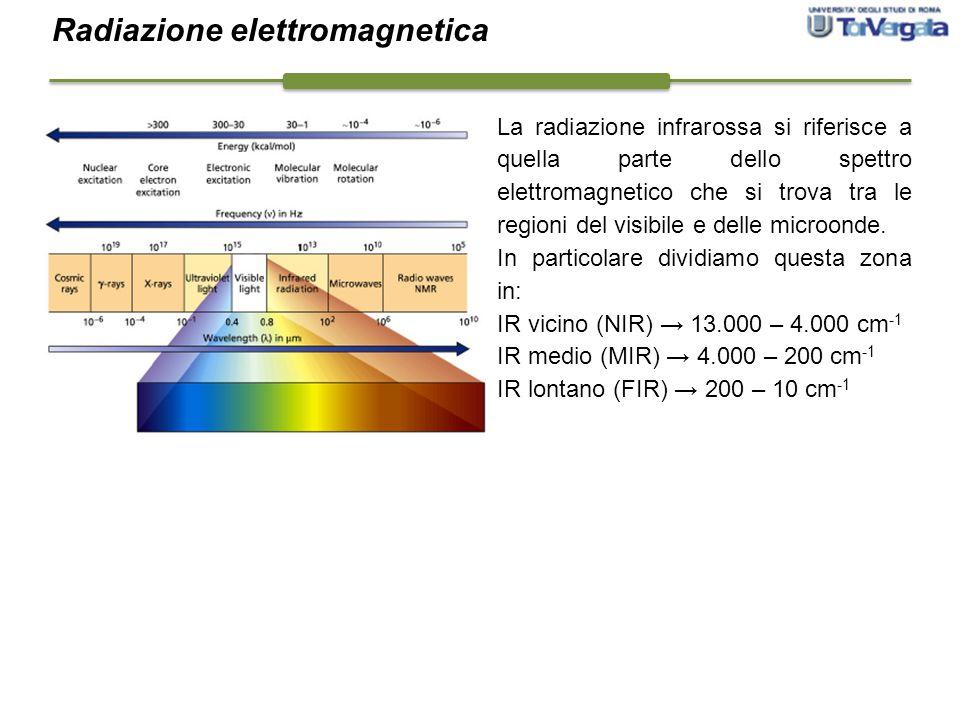 La radiazione infrarossa si riferisce a quella parte dello spettro elettromagnetico che si trova tra le regioni del visibile e delle microonde. In par