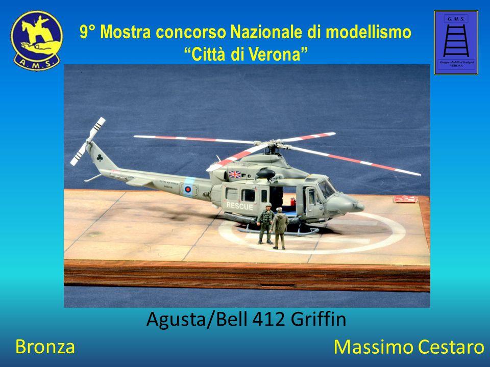 Marco Penasa Boeing AH 64 A Peten IAF 9° Mostra concorso Nazionale di modellismo Città di Verona Argento