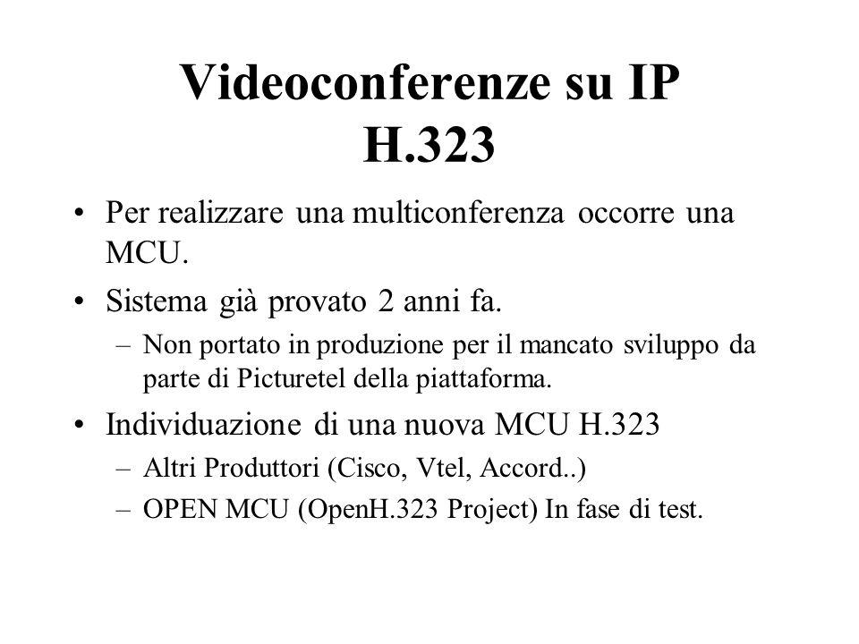 Per realizzare una multiconferenza occorre una MCU.