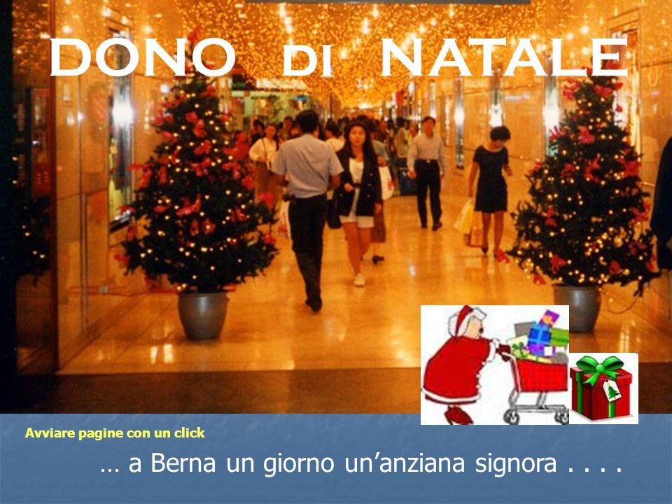 Sosta nel turbinio degli acquisti natalizi....