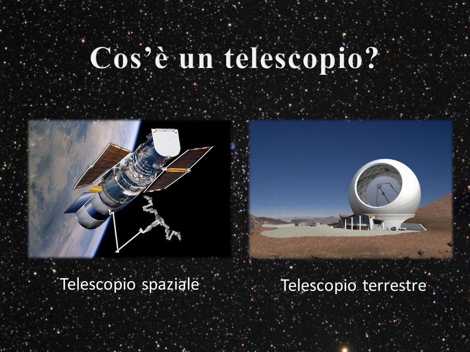 Telescopio spaziale Telescopio terrestre