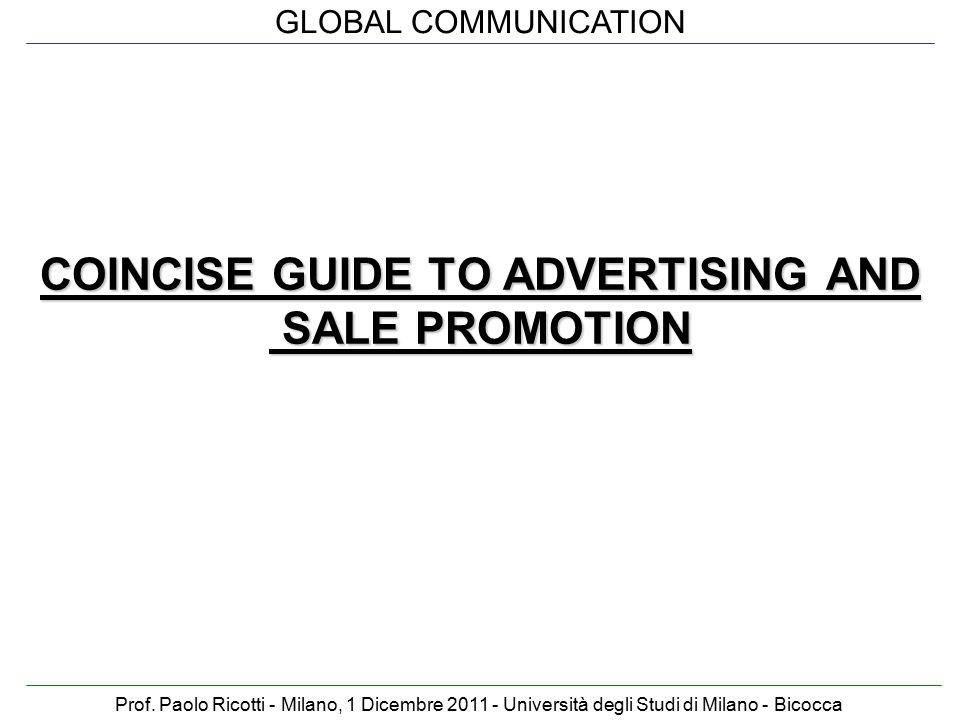 GLOBAL COMMUNICATION Prof.