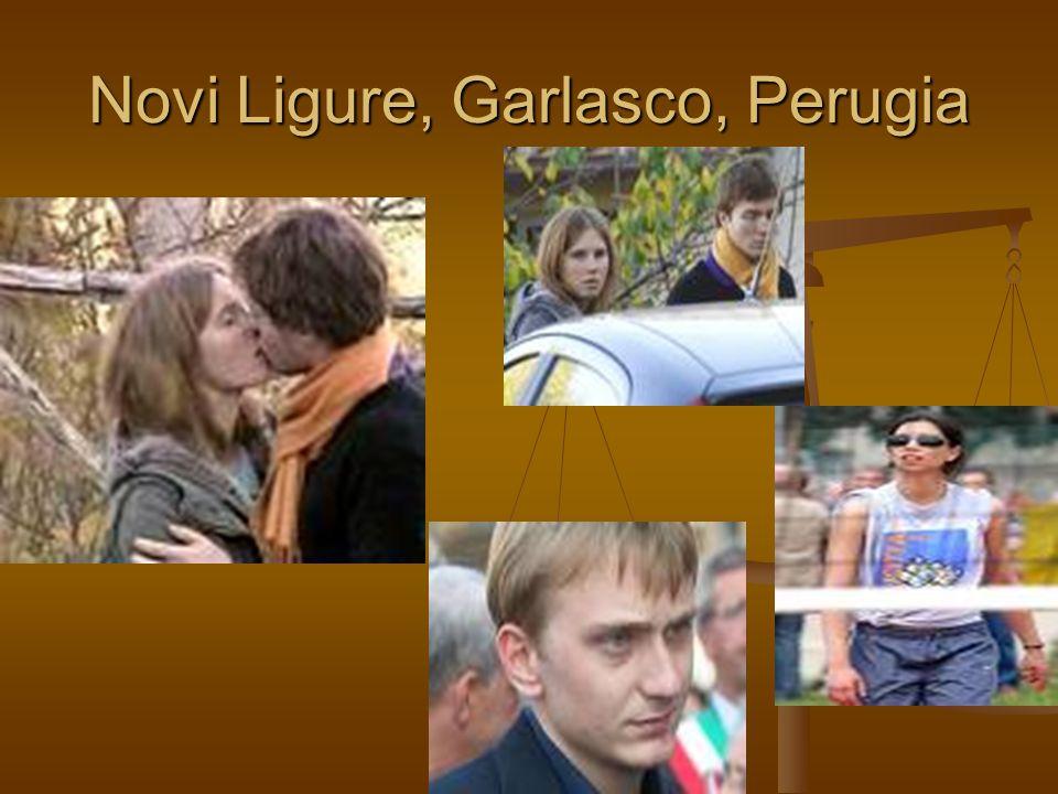 Novi Ligure, Garlasco, Perugia