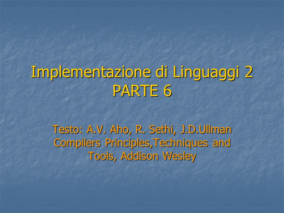 Compatibilità per Assegnamento Un'espressione E di tipo T 2 è detta compati- bile rispetto all'assegnamento ad un tipo T 1 sse: 1.
