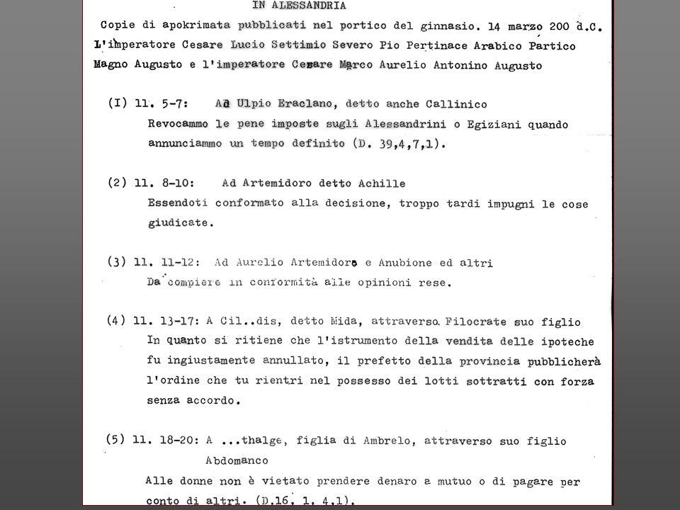 Lezioni di Esegesi delle fonti del diritto romano Gianfranco Purpura http://www.unipa.it/dipstdir/