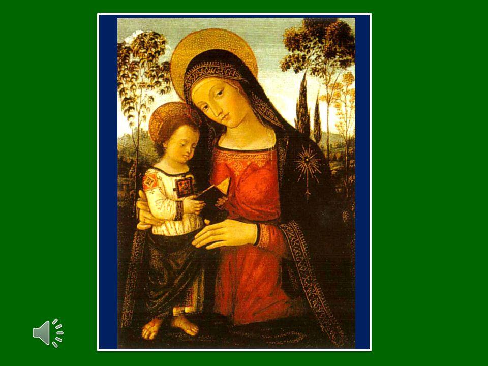 Una sola creatura è già arrivata alla cima della montagna: la Vergine Maria.