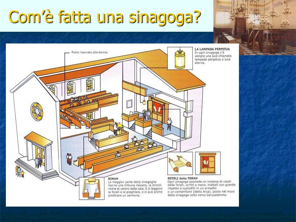 Com'è fatta una sinagoga? Com'è fatta una sinagoga?