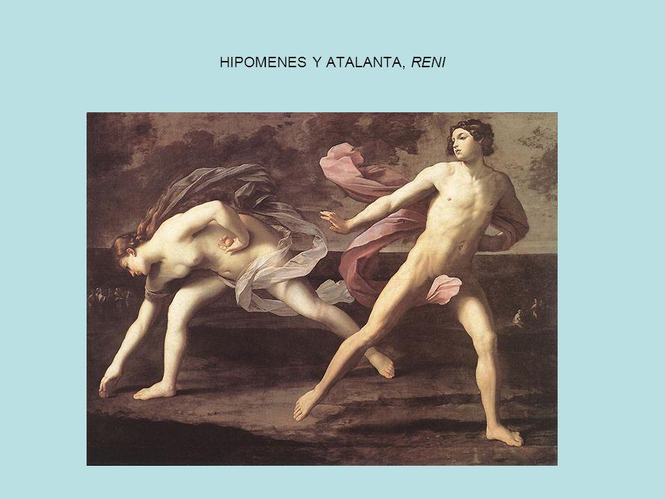 HIPOMENES Y ATALANTA, RENI
