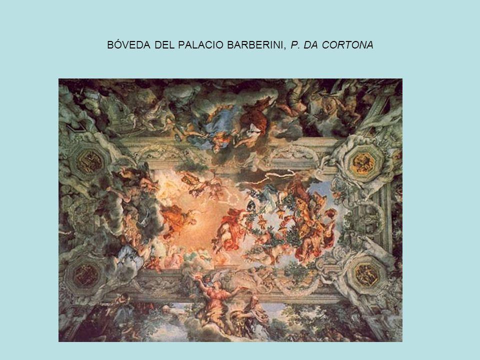 BÓVEDA DEL PALACIO BARBERINI, P. DA CORTONA