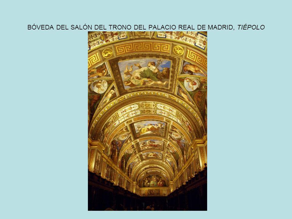 BÓVEDA DEL SALÓN DEL TRONO DEL PALACIO REAL DE MADRID, TIÉPOLO