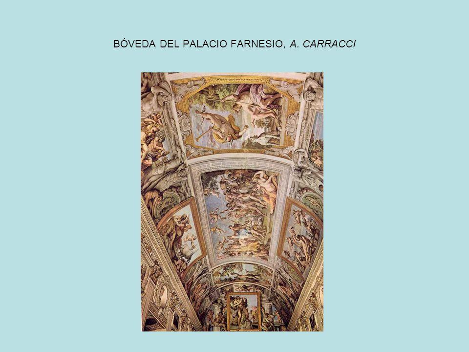 BÓVEDA DEL PALACIO FARNESIO, A. CARRACCI