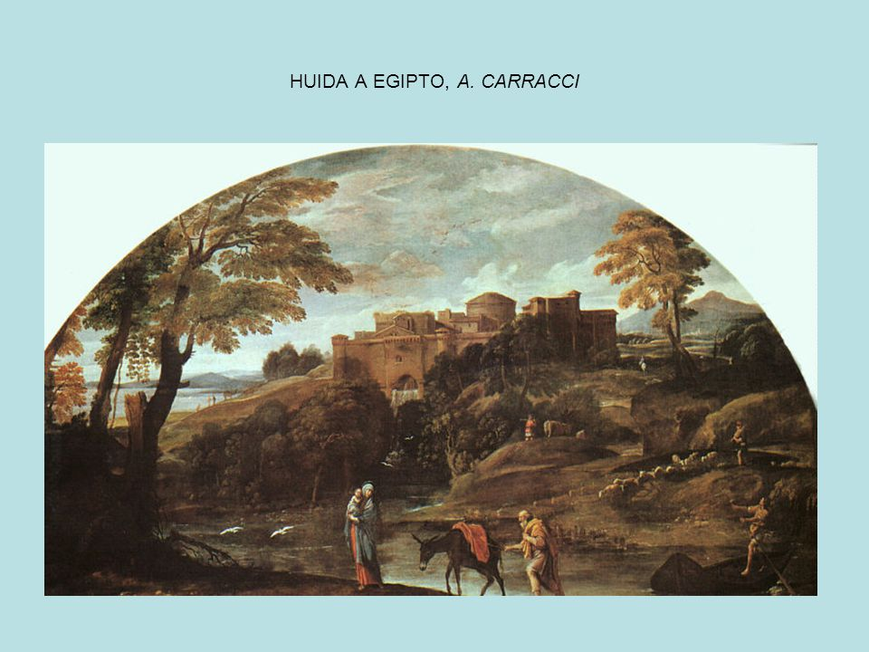 HUIDA A EGIPTO, A. CARRACCI