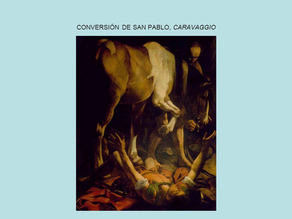 CONVERSIÓN DE SAN PABLO, CARAVAGGIO