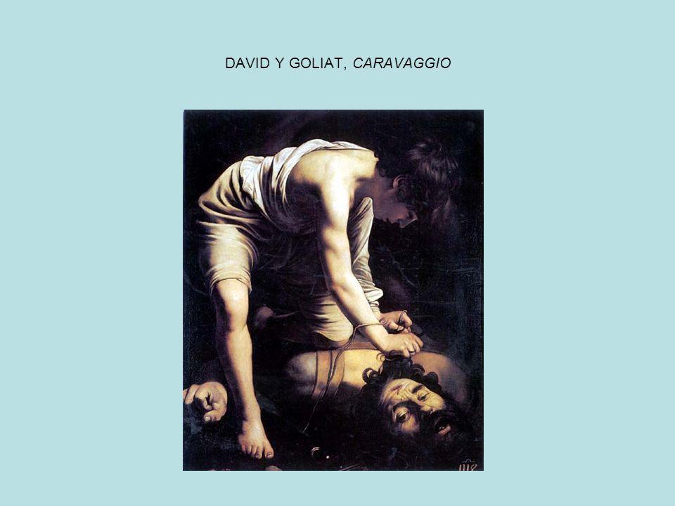 DAVID Y GOLIAT, CARAVAGGIO