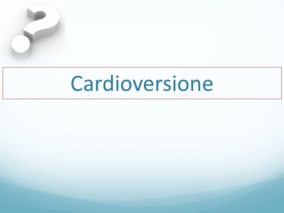 Cardioversione