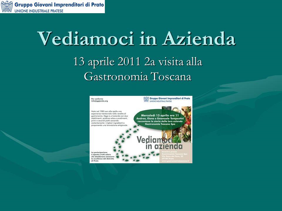 Vediamoci in Azienda 13 aprile 2011 2a visita alla Gastronomia Toscana