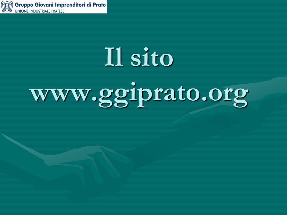 Il sito www.ggiprato.org