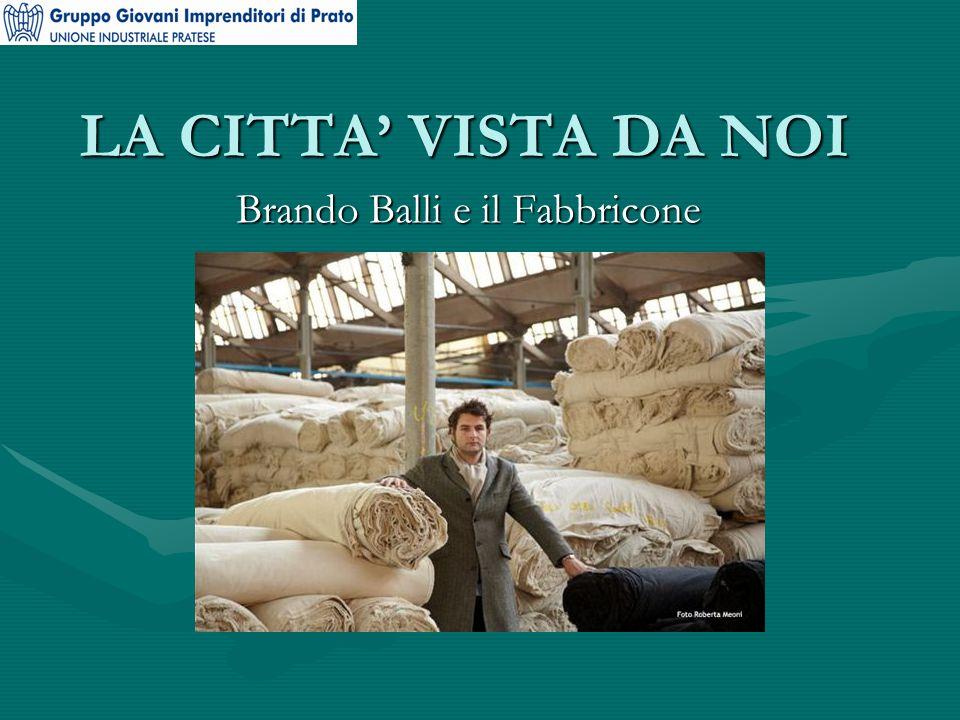 LA CITTA' VISTA DA NOI Brando Balli e il Fabbricone