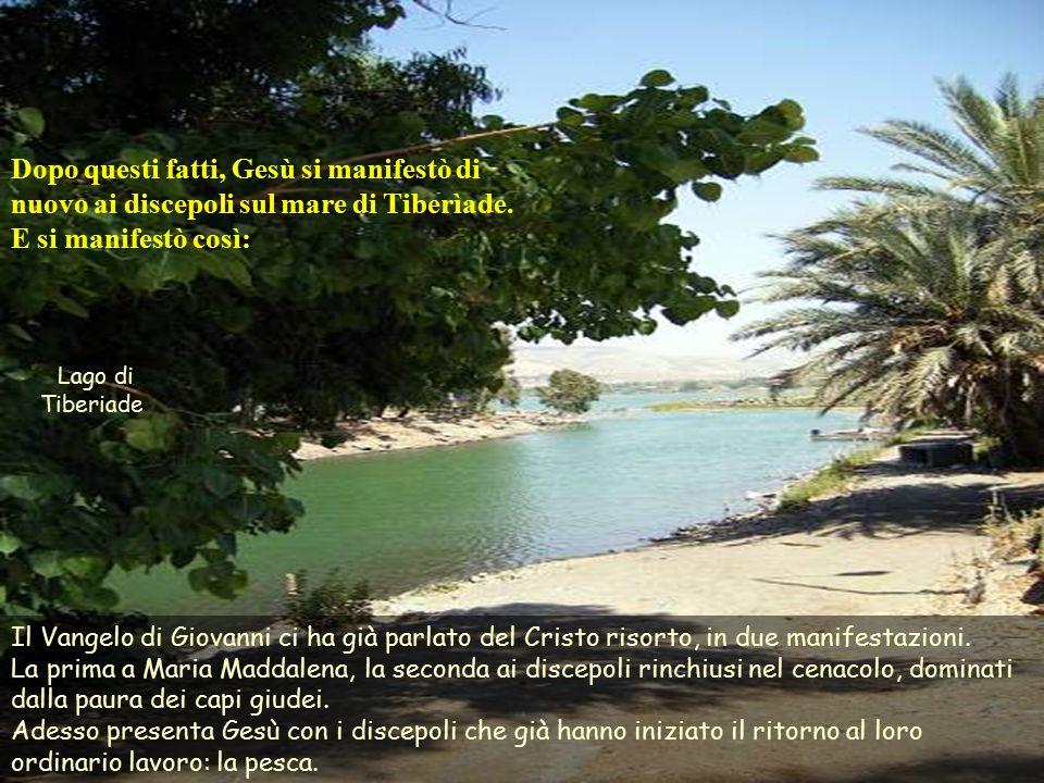 Testo: Giovanni 21,1-19. Pasqua 3 –C- Commenti e presentazione: M. Asun Gutiérrez Cabriada. Musica: Arcangelo Corelli. Concerto Grosso in B Flat Major