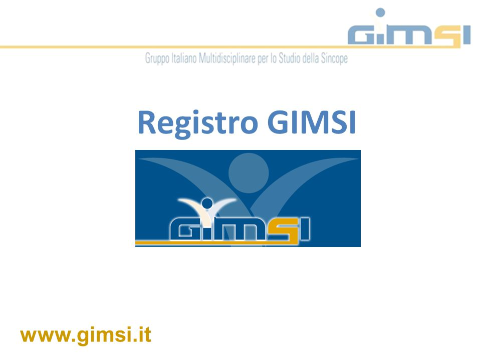 www.gimsi.it Registro GIMSI