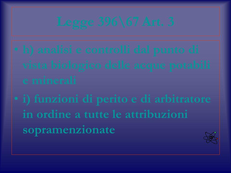 Legge 396\67 Art.