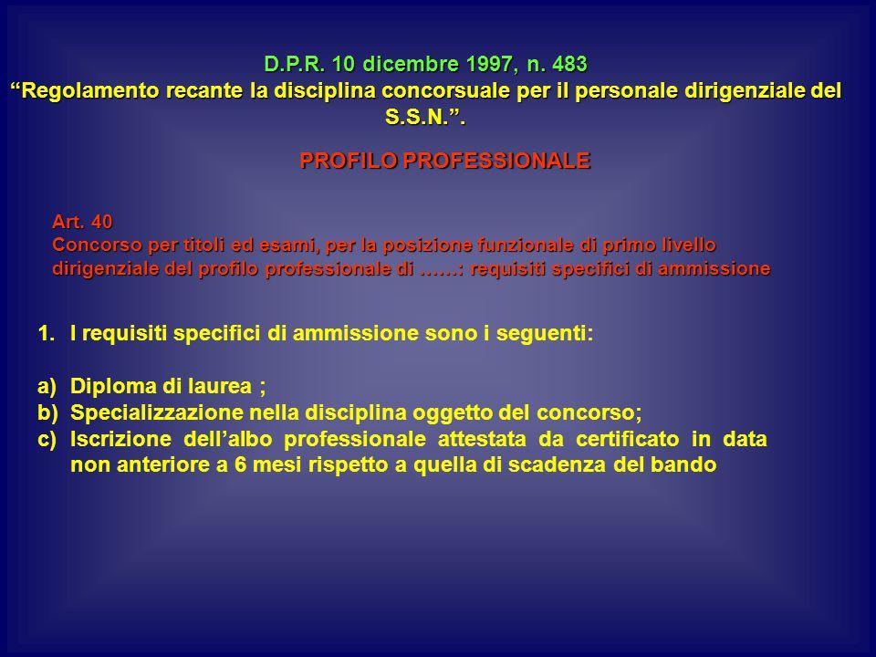 D.P.R.10 dicembre 1997, n.