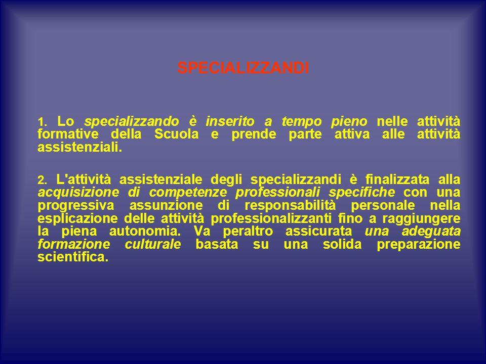 SPECIALIZZANDI 1.