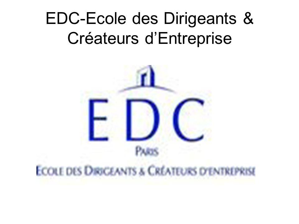 EDC-Ecole des Dirigeants & Créateurs d'Entreprise