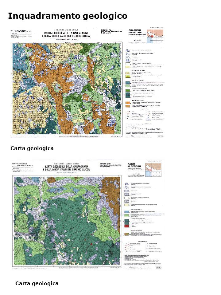Carta geologica Inquadramento geologico Carta geologica