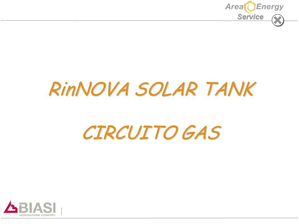 Service RinNOVA SOLAR TANK CIRCUITO GAS