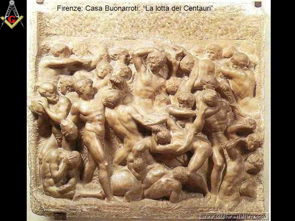 """Firenze: Casa Buonarroti """"La madonna della scala"""""""