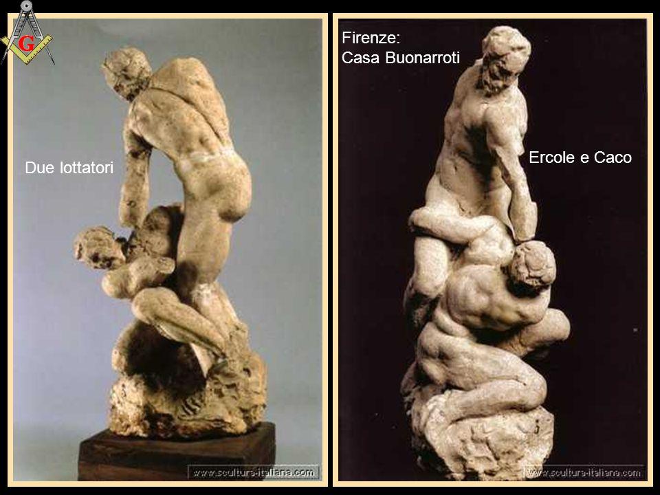 "Firenze: Casa Buonarroti: ""La lotta dei Centauri"""