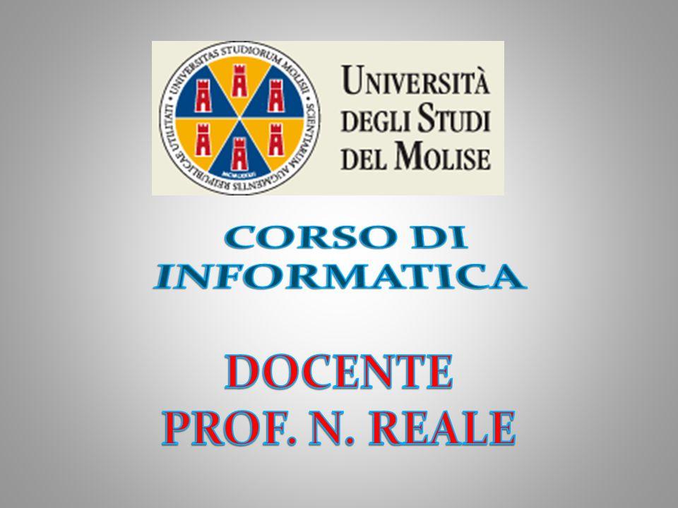 DOCENTE PROFESSORE N.
