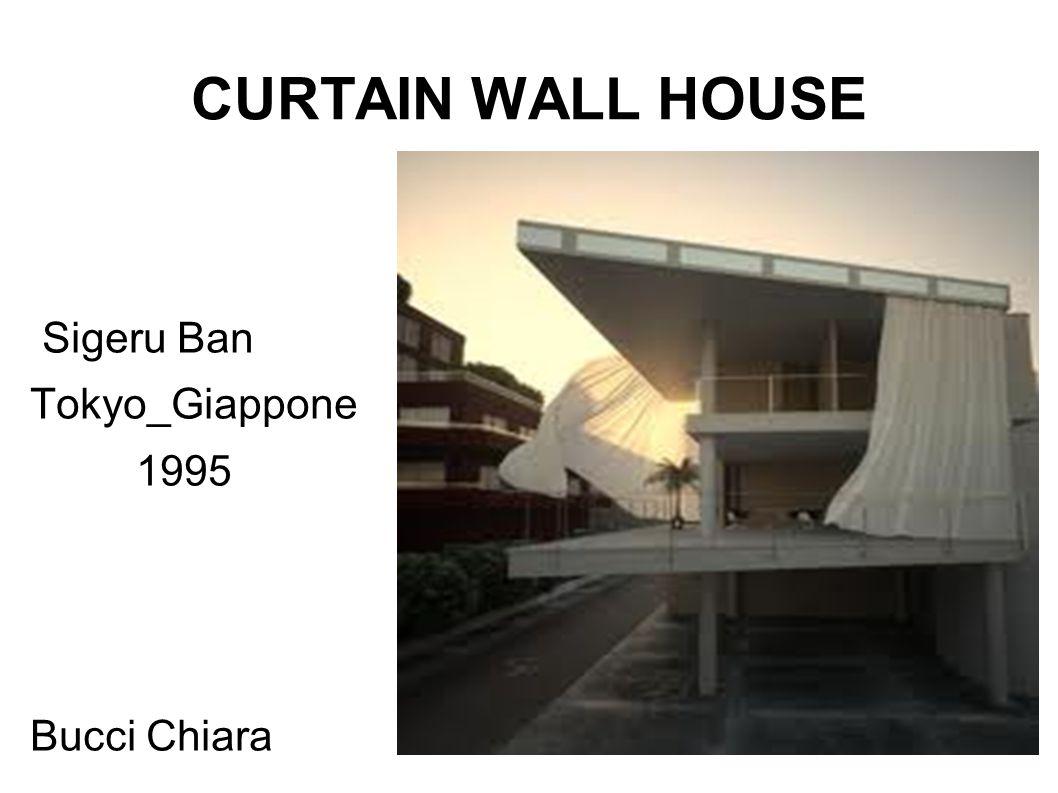 CURTAIN WALL HOUSE Sigeru Ban Tokyo_Giappone 1995 Bucci Chiara