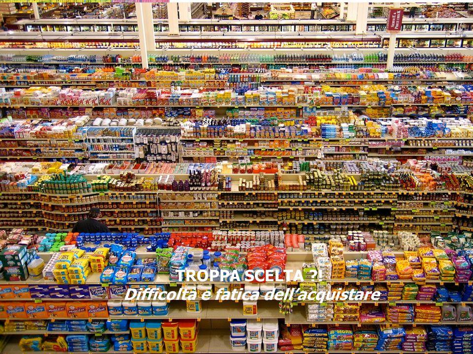 Università di Parma – Facoltà di Economia TROPPA SCELTA ?! Difficoltà e fatica dell'acquistare