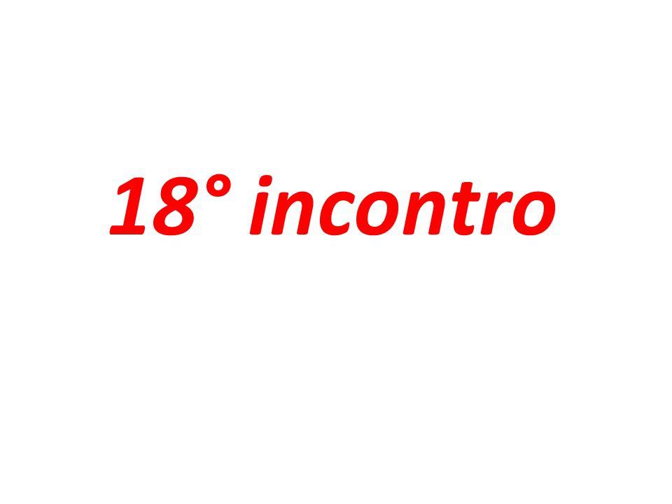 18° incontro