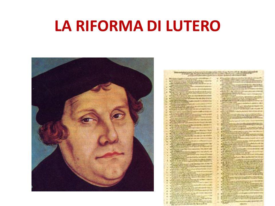 Nascita dei PROTESTANTI 1526: DIETA di SPIRA I principi tedeschi imposero che la scelta della religione spettava al principe di ogni Stato.