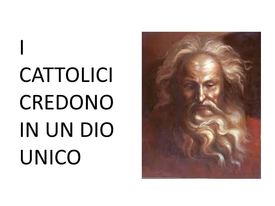 NELL'UNICA NATURA DI DIO VI SONO TRE PERSONE LA PERSONA DEL PADRE LA PERSONA DEL FIGLIO LA PERSONA DELLO SPIRITO