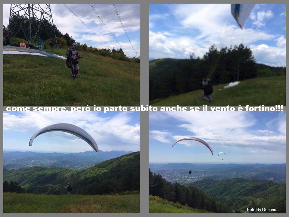 Foto By Doriano come sempre, però io parto subito anche se il vento è fortino!!!