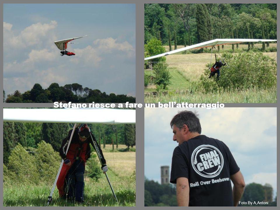 Stefano riesce a fare un bell'atterraggio Foto By A,Antoni