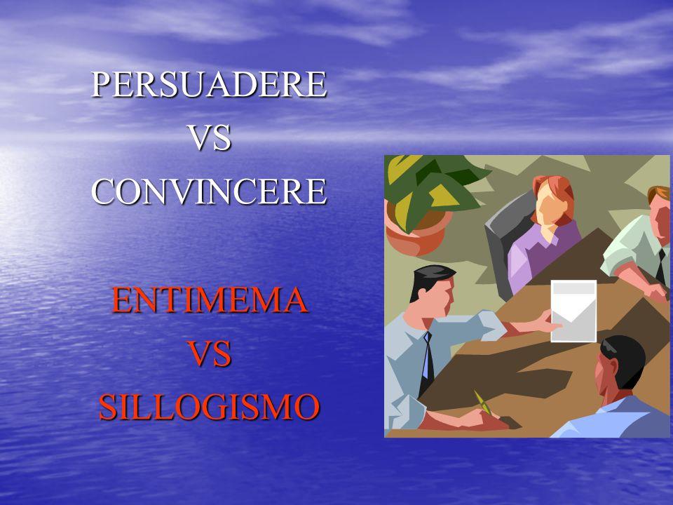 PERSUADEREVSCONVINCEREENTIMEMAVSSILLOGISMO