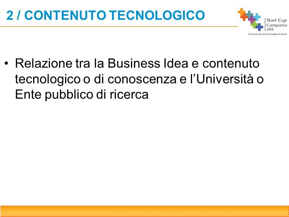 3 / IL MERCATO Inserire in questa pagina le informazioni relative a: Dimensioni & trend del mercato Soluzioni attualmente concorrenti (ad esempio le tecnologie in uso)