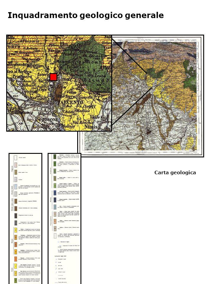 Carta geologica Inquadramento geologico generale
