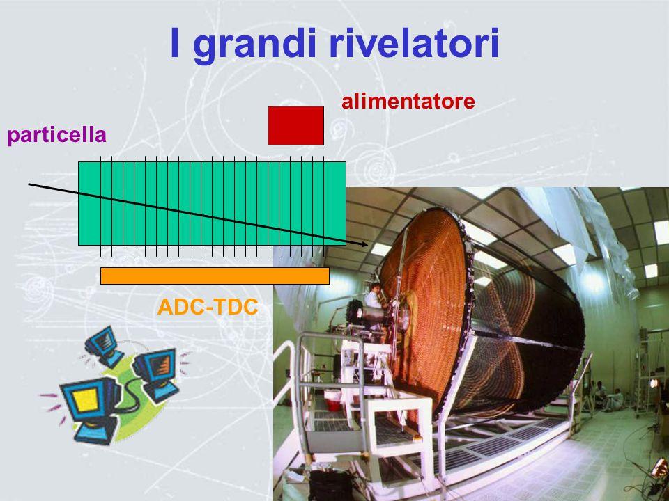 Rivelatori di particelle particella carica e +, e -,  +, p etc uno degli atomi del gas, viene ionizzato L'elettrone, libero, sente il campo elettrico