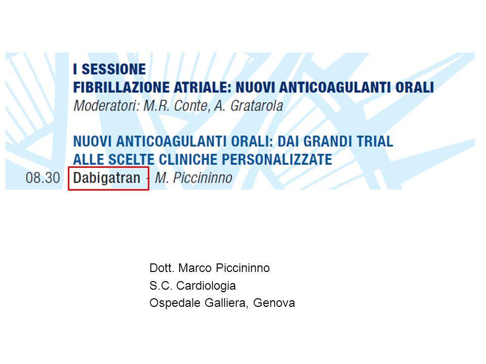 Dott. Marco Piccininno S.C. Cardiologia Ospedale Galliera, Genova